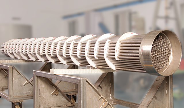 TEAM's 75+ ton Shell and Tube Heat Exchangers for HPCL's brownfield VRMP project