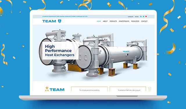 TEAM's digital presence gets a facelift.