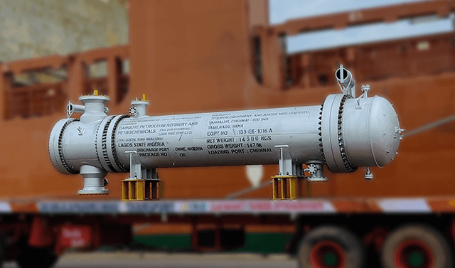 TEAM supplies 66 Heat Exchangers to Nigeria's Dangote Oil Refinery project  amidst the pandemic